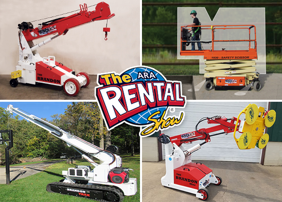 See these Products at the Rental Show