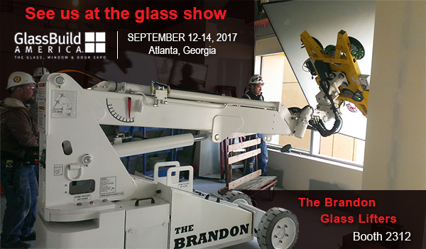 See us at the glass show. Booth 2312