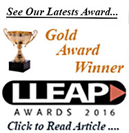 LLEAP Gold Award Winner