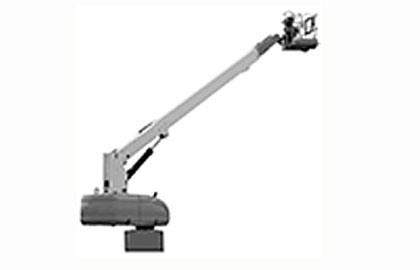 Pedestal Mounted Boom Lift