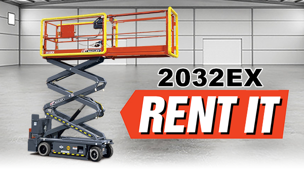Rent the 2032EX Manlift Now!