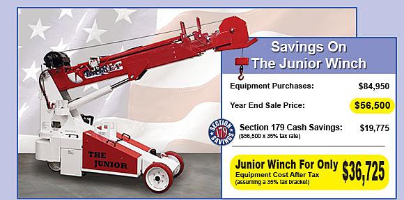 Brandon Junior Winch Year End Savings