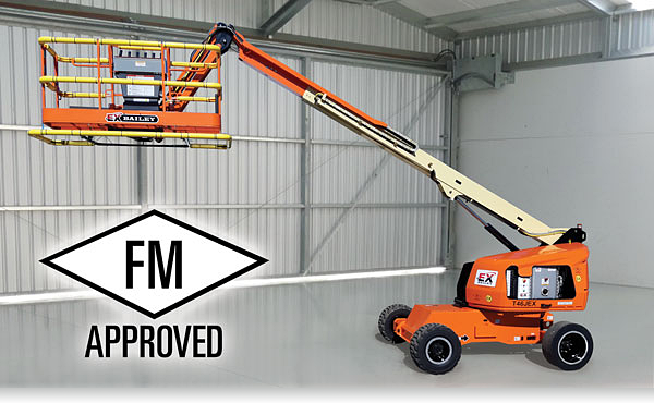 Bailey's T46JEX Boom Lift