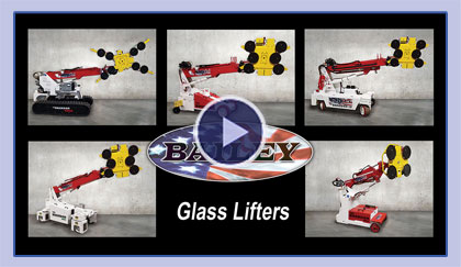 Baileys Cranes Glass Lifters