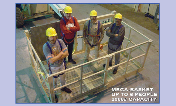 Mega-Basket Up To 6 People 2000# Capacity