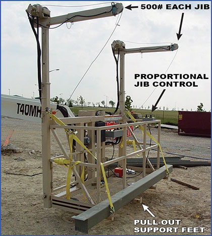 High Capacity Boom Lift Platform Features